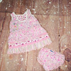 Children's Place 6-9 Months Matching Pink Set